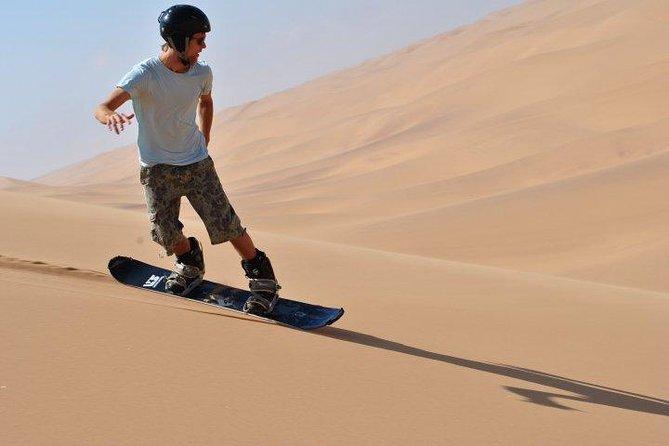 Sandboarding Swakopmund Namibia