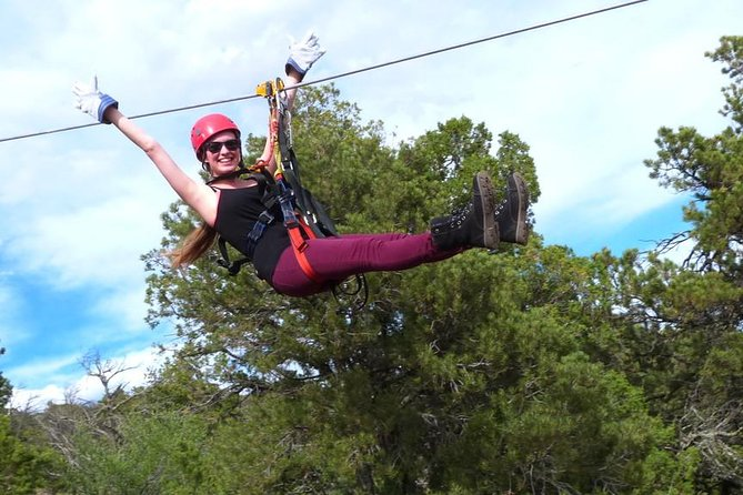 Classic Zip Line Tour - 9 zip lines, speeds up to 55 MPH. All abilities.
