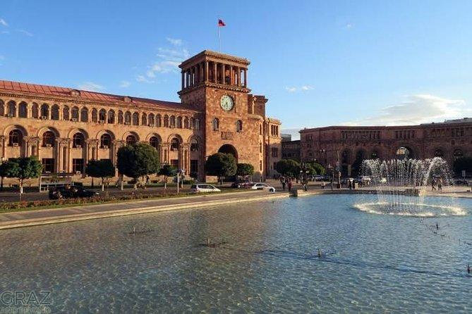 Full day driver service in Yerevan (8-10 hrs)