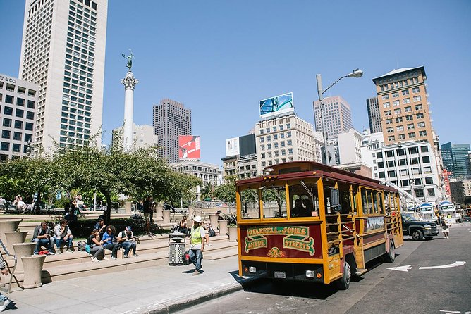 San Francisco Cable Car City Trolley Tour from Union Square