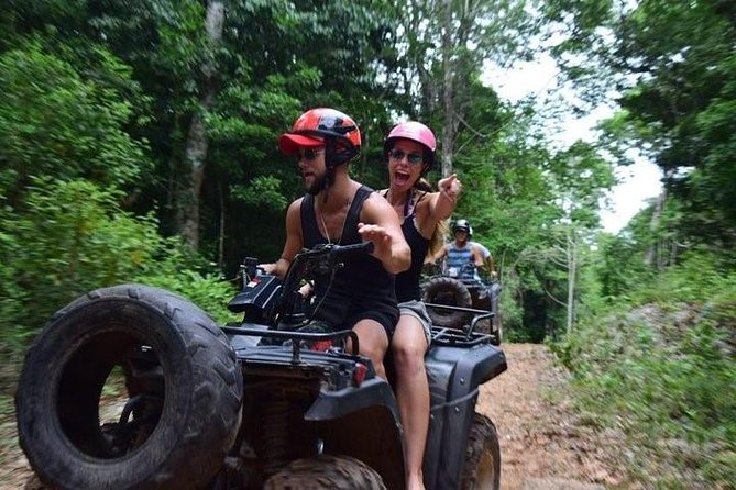 Amazing Combo 3x1 Zipline, Cenote, ATV´S (shared) and Lunch