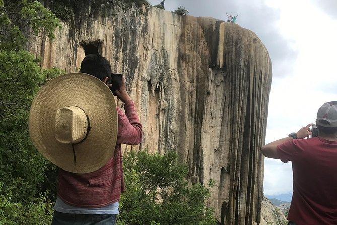 Hierve el Agua, Mezcal Tasting, and Teotitlan del Valle Tour (Private Tour)
