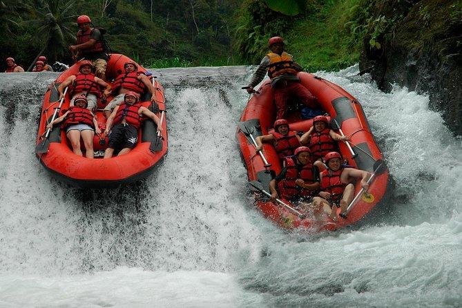 Telaga Waja Rafting Combine with Kerta Gosa