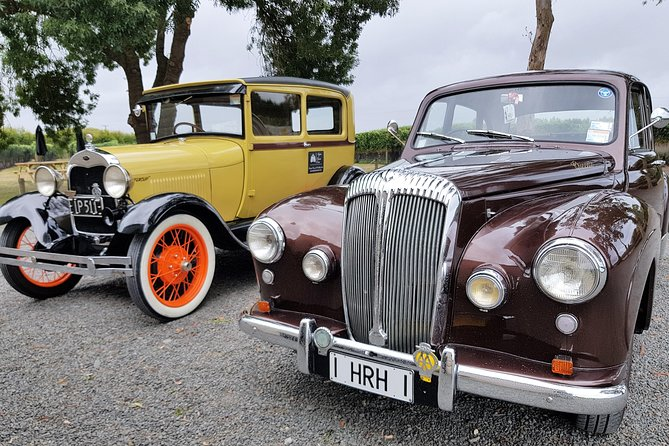 Napier Sightseeing tour in a classic/vintage car