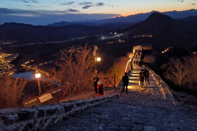 Illuminated Great Wall Tour to Simatai Section and Gubei Water Town with Dinner