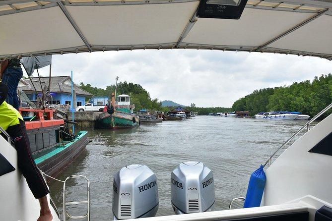 Ao Nang to Phuket by Green Planet Speed Boat via Koh Yao Islands