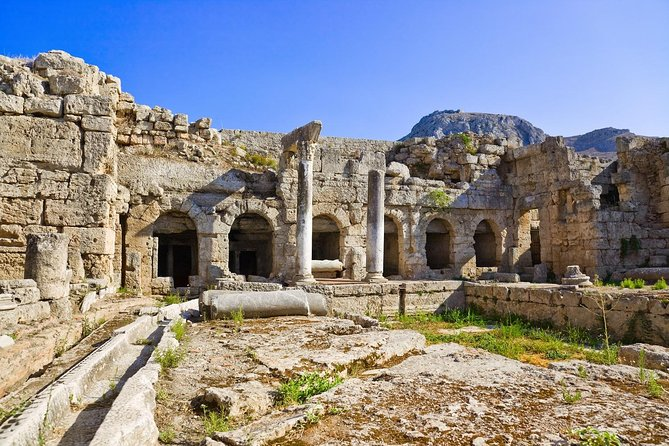 Ancient Corinth and Daphni Monastery Half-Day Tour from Athens