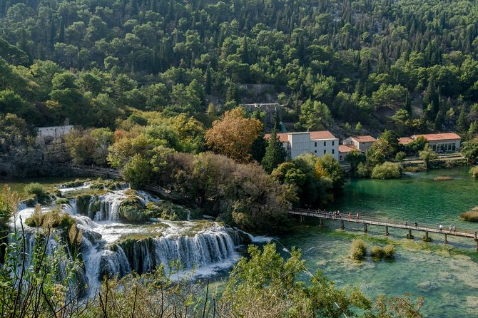 Krka Waterfalls with River Cruise Tour from Split photo 9