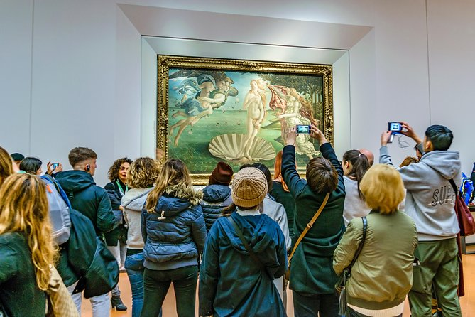 Uffizi Gallery private tour with skip the line ticket