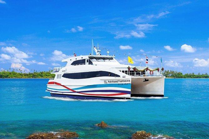 Koh Chang to Trat by Boonsiri High Speed Catamaran