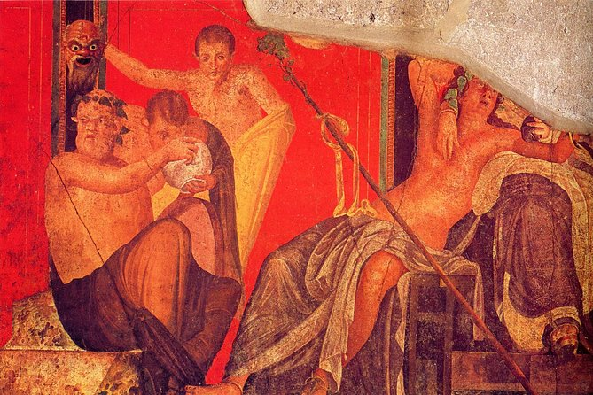 Villa of the Mysteries with Pompeii: Private Tour