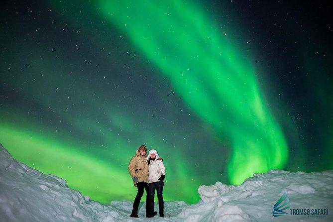 Noorderlichttour met een kleine groep vanuit Tromsø, inclusief fototips