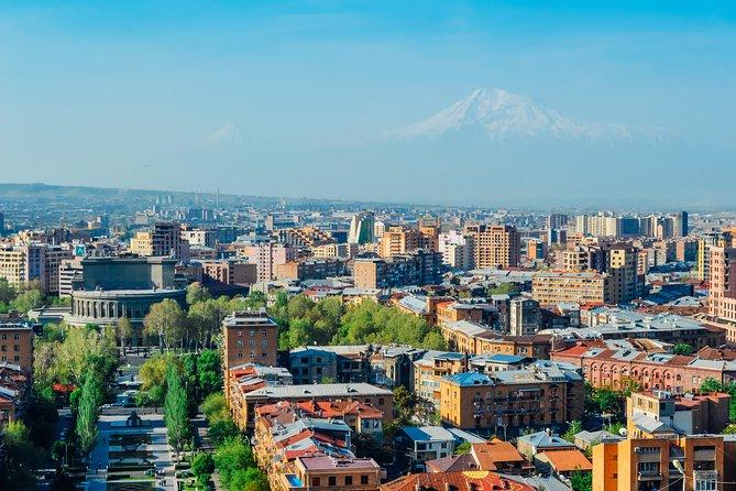 Group tour: City center, Yerevan History museum, Brandy factory, Megeryan Carpet