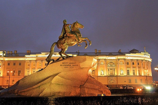 Weekend Tour in Saint-Petersburg with Guide by Car