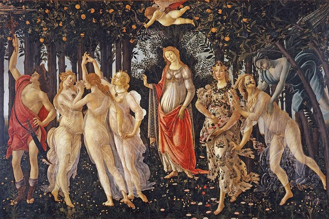 Skip the Line: Florence Accademia and Uffizi Gallery Small Group Tour photo 2
