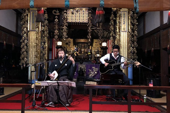 Kyoto Buddhist Experience & Hidden Concert
