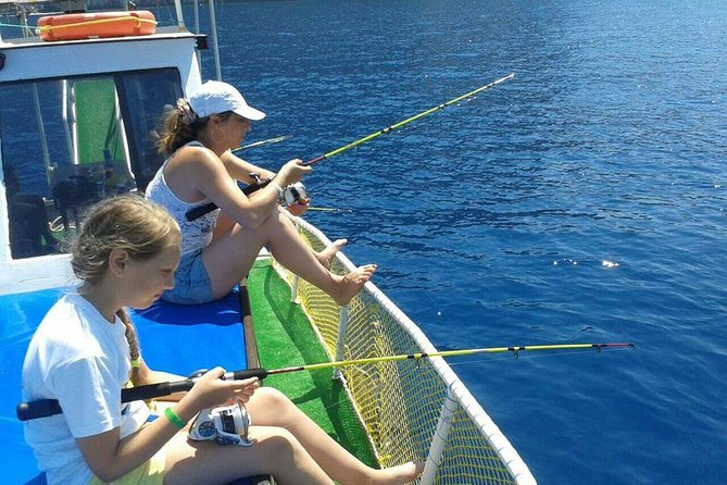 Fishing and Snorkeling Tour From Alanya