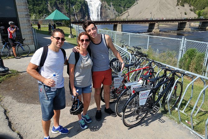 Bike Tour to Montmorency Falls from Quebec City