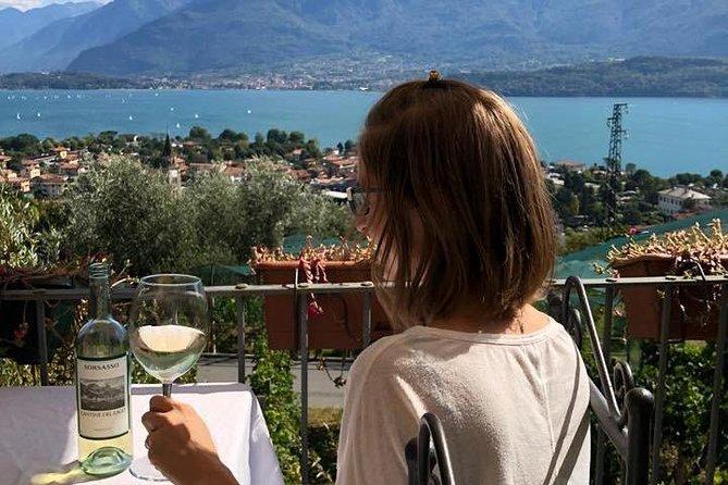 Domaso: Wine Tasting at the Winery on Como Lake