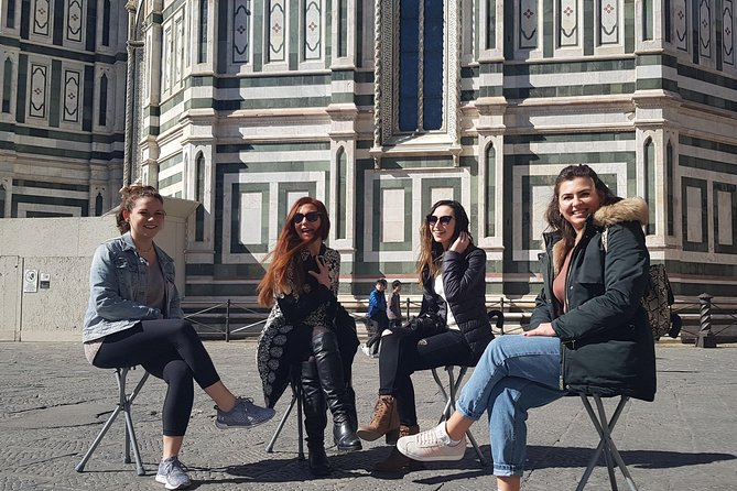 Sit and walk Florence tour with Gelato