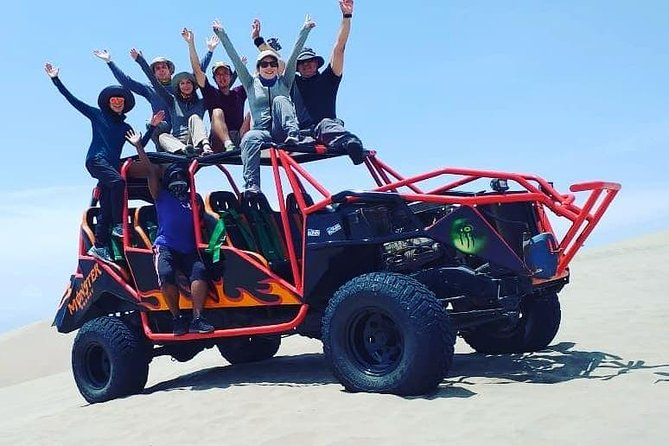 Full day to Paracas & Huacachina from Lima with Ballestas island & Sand boarding