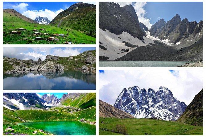 Trekking to Juta-Chaukhi Pass-Abudelauri Lakes