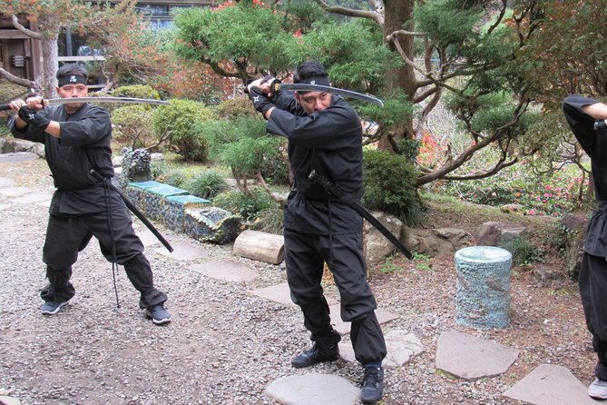 Tokyo Ninja Experience & Sake Brewery 1-Day Private Guided Tour