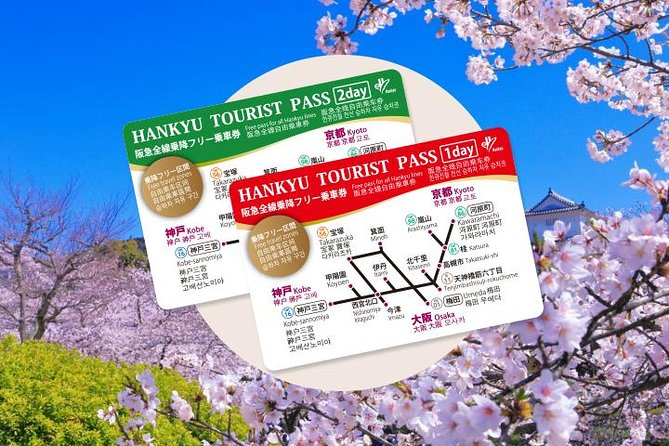 Hankyu 1 or 2 Days Tourist Pass