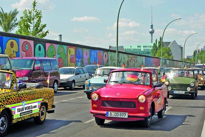 Tour Berlijnse Muur, zelf Trabant rijden in Berlijn