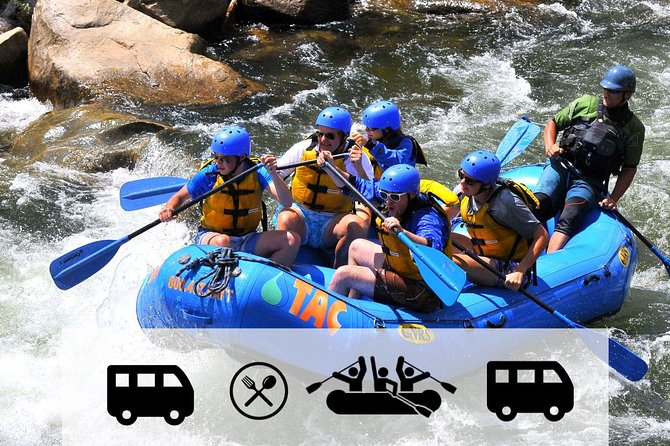 Numbers Express: Fortgeschrittene Rafting-Reise mit Transport