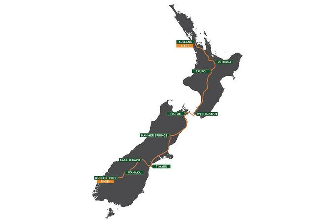 Auckland to Queenstown - 10 Days Winter Ski Edition Crossfit Tour - 27th August