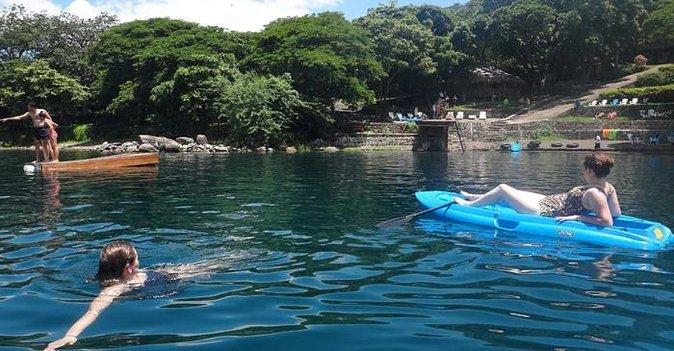 Ontspannende dag bij de Apoyo-lagune