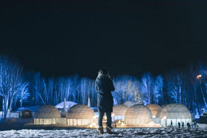 Ice Village Tour (Lake Shikaribetsu Kotan and Tomamu Ice Village)