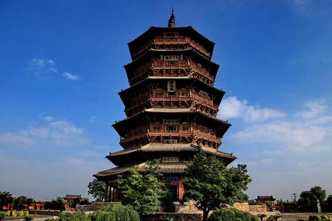 Private Tour of Datong Hanging Monastery and Yingxian Wooden Pagoda