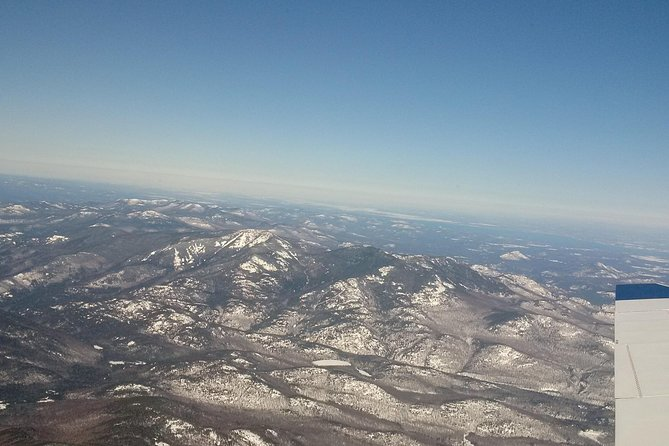 The Adirondack landscape.