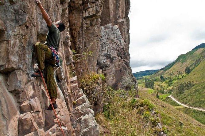 5-Day Rock Climbing Tour in Cojitambo, Paute, Girón, Cajas and Sayausi