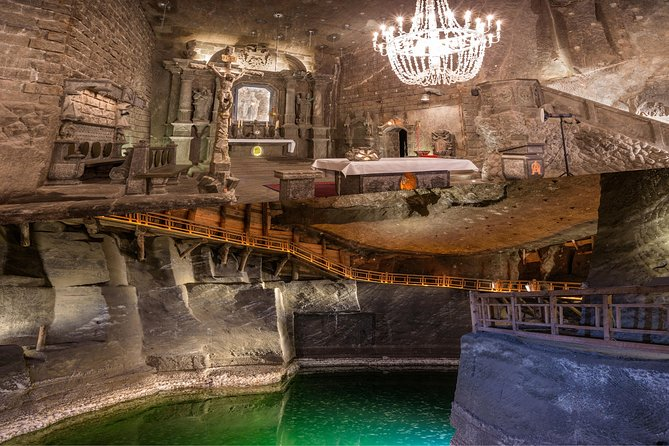 From Krakow: Wieliczka Salt Mine Full Live Guided Small Group Tour