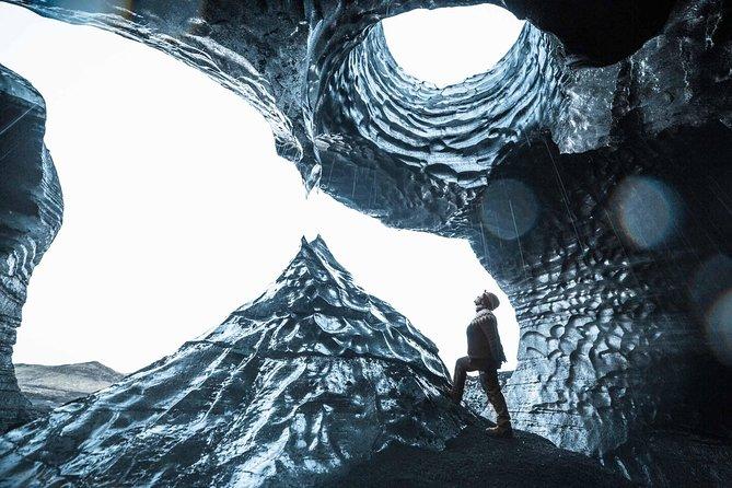 Ice Cave at Katla Volcano
