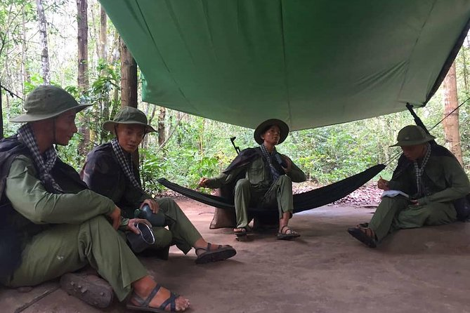 Cu Chi Tunnels Deluxe Group Tour Half Day