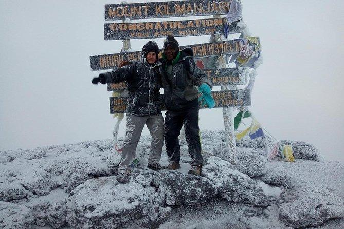 6 days Marangu route climbing Mt. Kilimanjaro