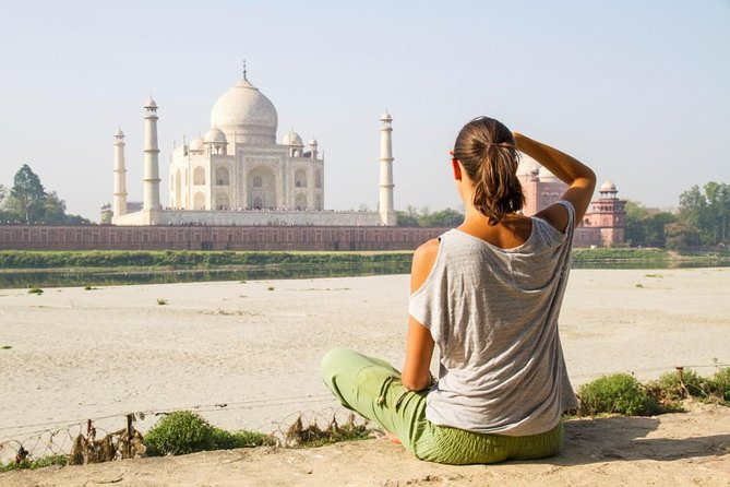 Private Tour : Taj Mahal , Agra Fort & Mehtab Bagh With Lunch And Language Guide
