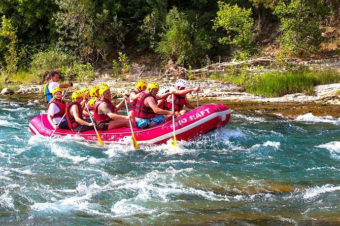 Zipline, Canyoning, Rafting Combo Tour From Alanya-Side-Antalya