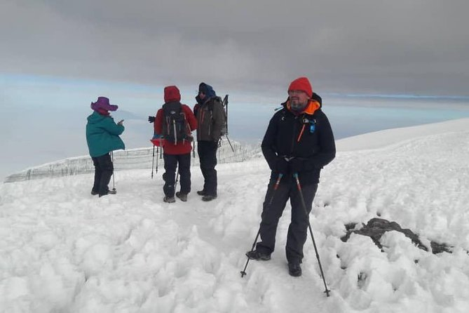8 days Machame route with crater camp