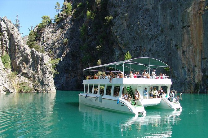 Green Canyon Cruise and Photography Tour from Alanya- Side