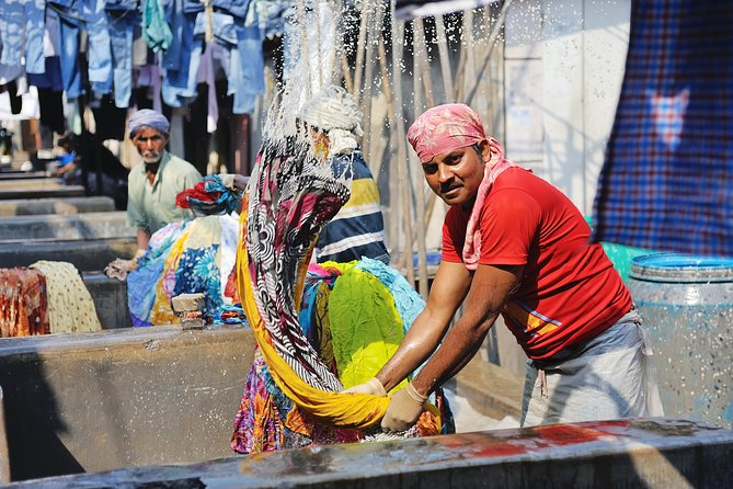 Private Mumbai Dhobi Ghat Tour with UNESCO Site