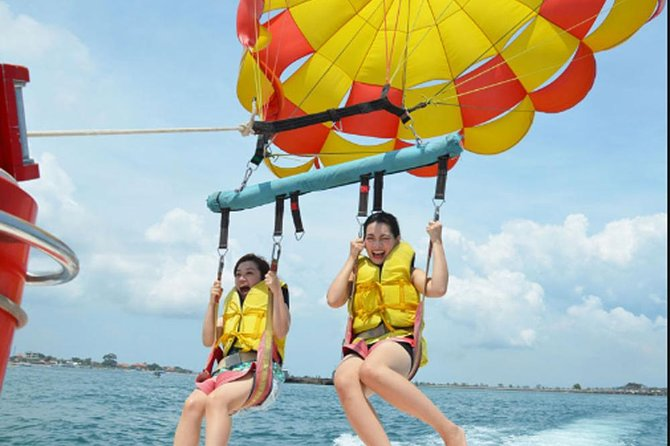 Watersport Package-Private Transfer-Parasailing Adventure-Donat Boat-Banana Boat