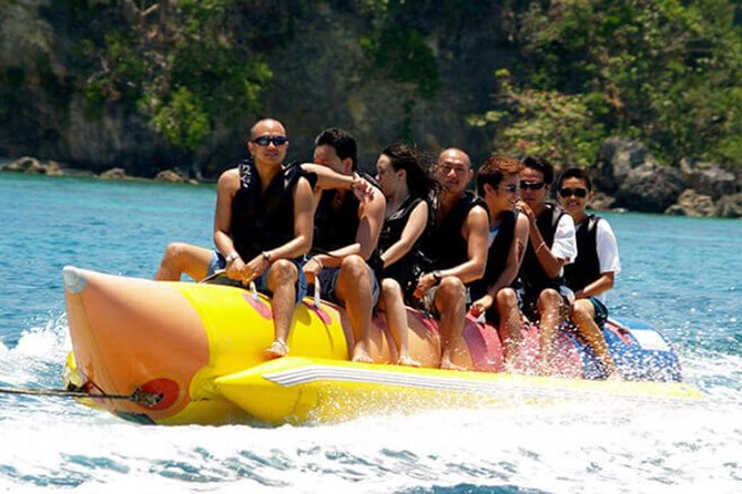 Enjoy Playing Banana Boat It Feels Like Riding A Horse At Tanjung Benoa Beach