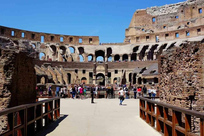 Colosseum Private Tour with Roman Forum & Palatine Hill
