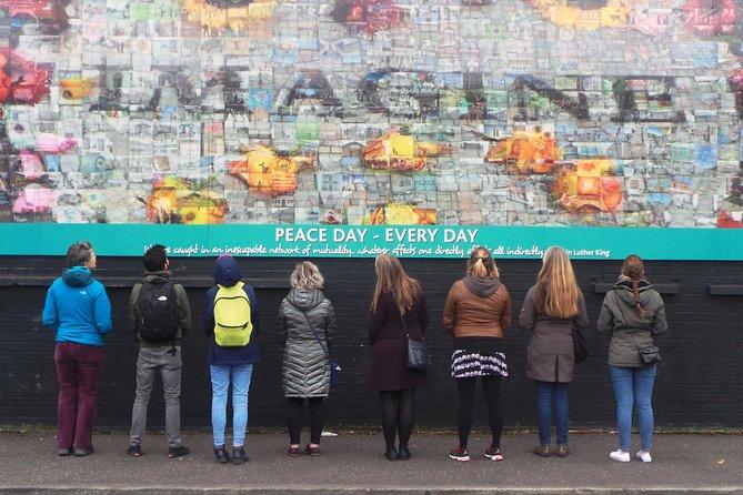 Belfast Political Mural Street Art and Peace Gate