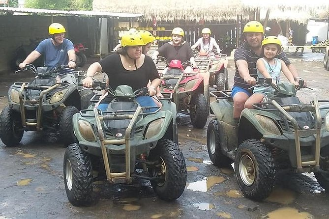 TRULY BEST UBUD ATV RIDE ADVENTURE WITH LUNCH AND PRIVATE HOTEL TRANSFER.